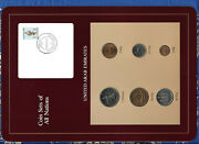 Coin Sets Of All Nations Uae United Arab Emirates Unc 1973-1989 Falcon Stamp