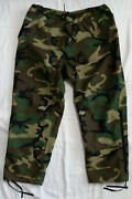 Us Military Woodland Camo Ecwcs Gore-tex Pants Trousers X-large Long Xl Hunting