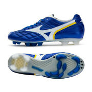 Mizuno Wave Cup Legend Md P1ga201901 Blue Japan Football Soccer Cleats Shoes