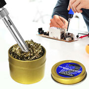 Rosin Soldering Flux Paste Solder Grease Copper Wire Cleaning Ball Tip Cleaner