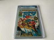 Human Fly 2 Cgc 9.8 White Pages Ghost Rider Appearance Marvel Comics 1977