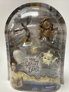 Disney Beauty And The Beast Castle Friends Collection Figurines Cake Toppers New
