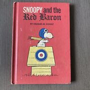 Snoopy And The Red Baron - 1966 Antique Book - Charles M. Schulz