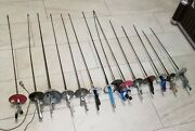 Lot 14 Vintage Swords Fencing Foil Italy France Tournament 90and039s