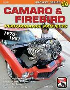 Camaro And Firebird Performance Projects 1970-81 Book Pro Touring Brand New