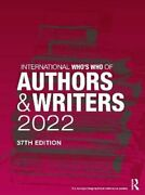 International Who's Who Of Authors And Writers 2022 9780367699123   Brand New