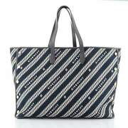 Givenchy Bond Shopper Tote Print Canvas With Leather Large