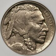 1914-d Tough Date Buffalo Nickel Old Anacs Xf40 Orig And Sweetdavidkahnrarecoins