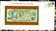 Banknotes Of All Nations Philippines 1978 5 Piso P 160c Unc F012934 Low