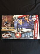 Wwe Toys R Us Exclusive Wrestlemania Superstar Ring Rock And Cena Action Figures