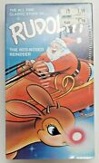 Rudolph The Red-nosed Reindeer Sealed Vhs Visions Of Christmas Vtg Rare