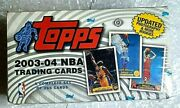 2003 Topps Nba Collection Factory Sealed Complete Set Box