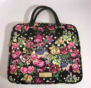 Betsey Johnson Soft Sided Floral Laptop Case 13 In 14 In Bag Purse Tech Carrier