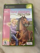 Barbie Horse Adventures Wild Horse Rescue Microsoft Xbox 2003 Not Tested