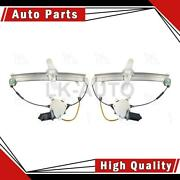 Aci Front 2 Of Power Window Motor And Regulator Assemblys For Town Car