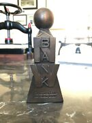 Vintage Mid-century Northwestern National Bank Weather Ball Tower Coin Bank