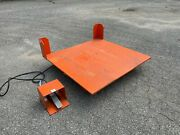 Air Caster Corporation D-12932 Industrial Lift And Tilt Table 2000 Lbs 50x50