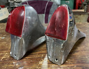 2accessory 1949 1950 Ford Jc Whitney Fender Top Tail Lights