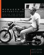 Mcqueen's Motorcycles Racing And Riding With The King Of Cool Brand New Hc