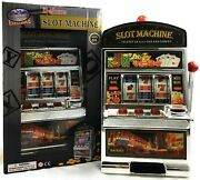 Matty's Toy Stop Deluxe Lucky 7's Slot Machine Bank With Jackpot Sound And Flas...
