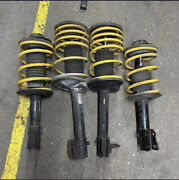 Dodge Neon Srt-4 Lowering Springs And Shock Complete Strut Assembly Yellow
