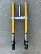 12 Yamaha Yzf R6 Front End Forks Suspension Set Pair Left Right 08 09 10 11 15