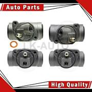 Raybestos Brakes Rear Front 4 Of Drum Brake Wheel Cylinders For Pontiac Catalina