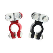 2 Pieces Car Truck Marine Boat Battery Terminal Clamp Clips Brass Connectors