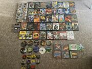 Huge Video Game Lot 84 Gamesgamecube/n64/ps1/ps2/snes/ps3/wii Some Sealed