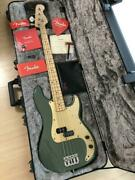 Fender American Professional Pb Precision Bass With Hard Case Used