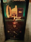 Rare Mr Goodwrench Gm Parts Wood Resin Wall Clock Tune-up Filter Lube Spark Plug