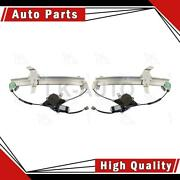 Aci Front 2 Of Power Window Motor And Regulator Assemblys For Lincoln Town Car