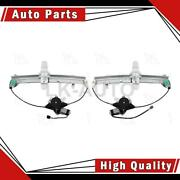 Aci Rear 2 Of Power Window Motor And Regulator Assemblys For Lincoln Town Car