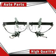 Vdo Front 2 Of Power Window Motor And Regulator Assemblys For Town Car