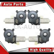 Aci Front Left Front Right Rear 4 Of Power Window Motors For Dodge Ram 1500