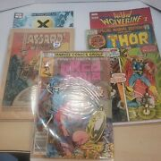 1st Issue Comic Lot, Red Sojna, Thor, Coverless Tales Of Asguard, Xmen, Woverine