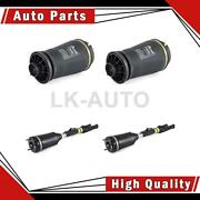 Arnott Industries Front Rear 4 Of Air Suspension Spring Air Struts For Ml63 Amg