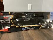 Parts Or Repair New Bright 1/6 Scale Ford F-150 Lightning Black Rc Truck Remote