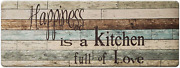 Freshmint Farmhouse Kitchen Mats Cushioned Anti-fatigue Comfort Mat For Home And