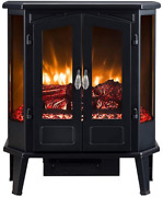 Hearthpro 5-sided Infrared Stove Fireplace Heater | Electric Fireplace Stove Hea
