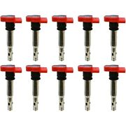 Set-np6739302-10 Denso Set Of 10 Ignition Coils New For Vw Audi A4 Quattro A6 S4
