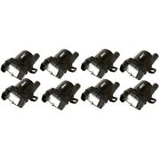 55098 Msd Ignition Coils Set Of 8 New For Chevy Avalanche Express Van Suburban
