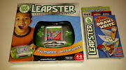 2007 Leap Frog Leapster Learning Game System New + 2 New Games