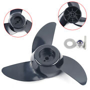 3 Blades Propeller Boat Outboard Motor For 28 36 46 Pounds Electric Push Nylon