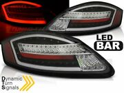 Tail Lights For Porsche Boxster Cayman 987 2005-2008 Black Dynamic Turn Signal C