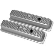 241-246 Holley Valve Covers Set Of 2 New For Chevy Suburban Express Van Pair