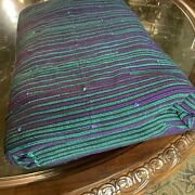 Fabric Material Woven Stripe Upholstery 16 Yards Lot Crafts Sewing El021