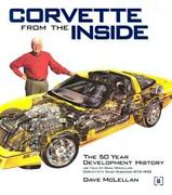 Corvette From The Inside Book By Chief Engineer Dave Mclellan1953-2001new Hc