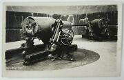 Rppc Wwi Coast Artillery Fort Worden Puget Sound Wa Real Photo Postcard Cac 12