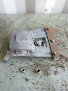 Vintage Mcculloch 250 Chainsaw Clutch Cover With Felling Dawg And Nuts